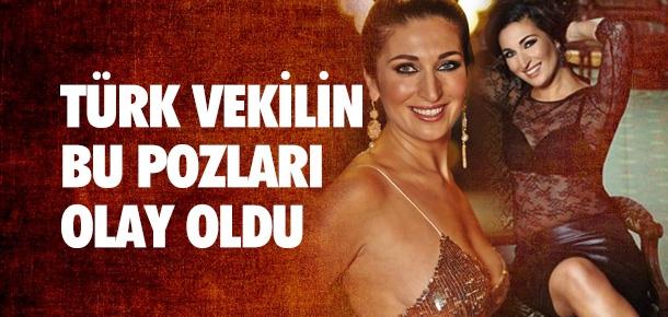 Türk Bayan Vekilin Verdiği Pozlar Olay Oldu galerisi resim 1