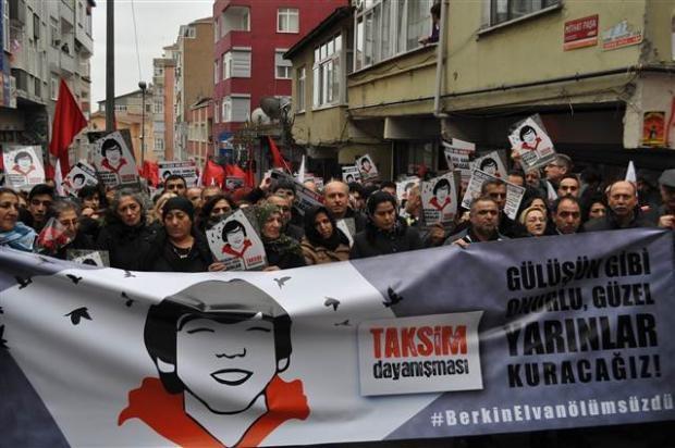 Berkin Elvan İçin İstanbul'da Yürüyüş galerisi resim 1