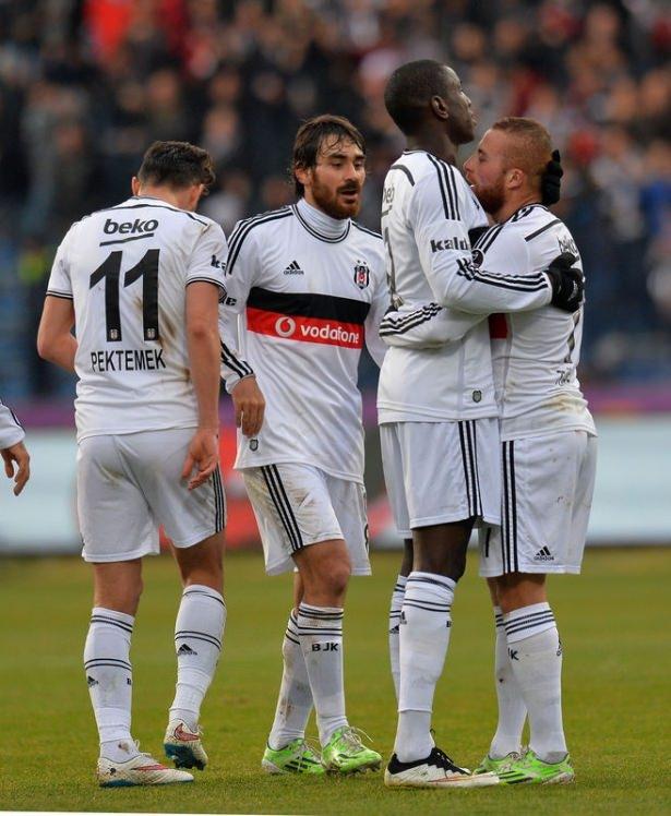 Beşiktaş 5 - Kayseri Erciyesspor 1 Maçtan Kareler galerisi resim 1