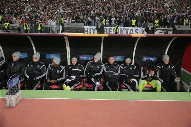 Beşiktaş - Club Brugge Maçtan Kareler (19.03.2015) galerisi resim 1