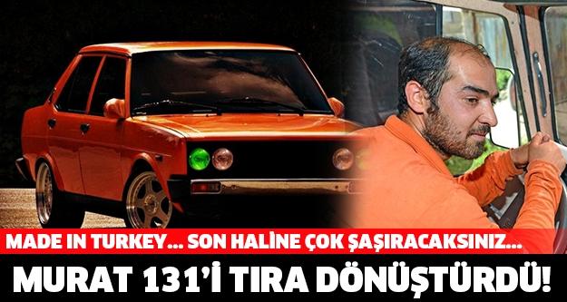 Murat 131'i TIR'a Çeviren Türk galerisi resim 1