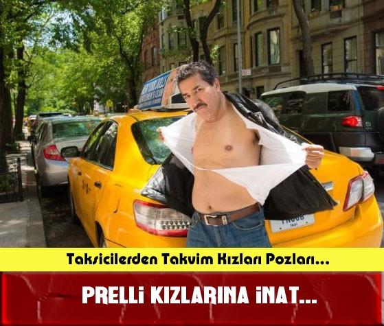 Taksicilerden Pirelli Takvim Kızlarını Kıskandıracak Pozlar! galerisi resim 1