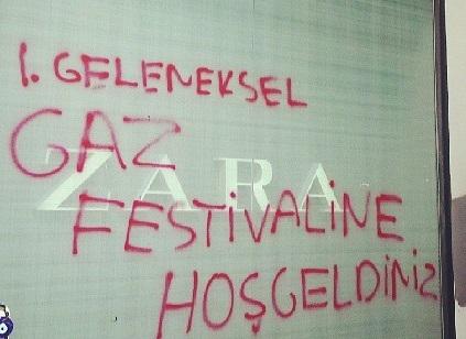 Gezi Parkı Direnişini Anlatan En Etkili Duvar Yazıları galerisi resim 1