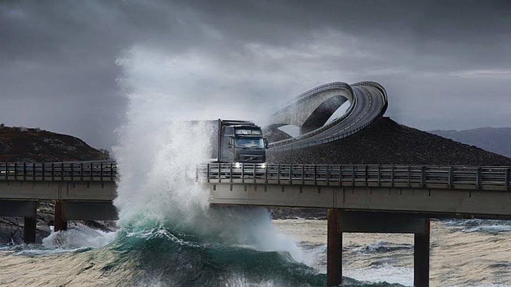 Adacıklar Arası Geçiş İçin Yapılan Muhteşem Köprü galerisi resim 1