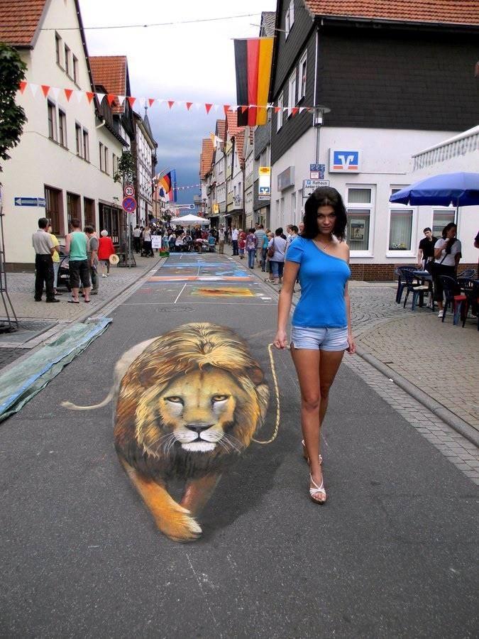 Üç Boyutlu Sokak Sanatından 29 Muhteşem Örnek galerisi resim 1