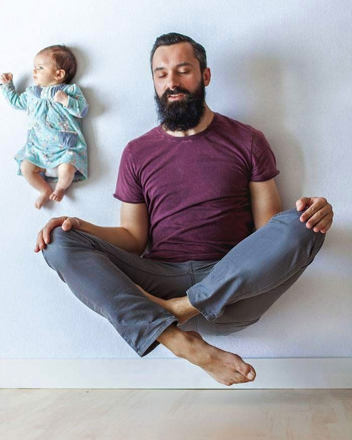 Babanın Bebeği İle Oluşturduğu Harika Albüm galerisi resim 8