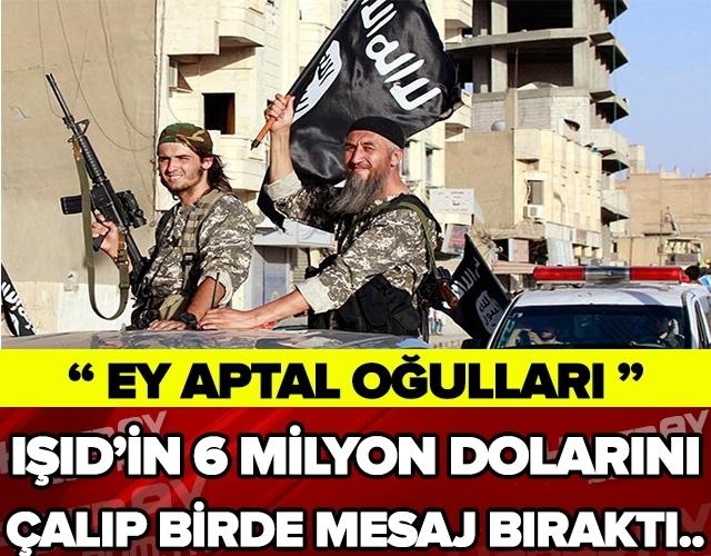 IŞİD'in 6 Milyon Dolarını Çalan Komutan Bir de Mesaj Bıraktı galerisi resim 1