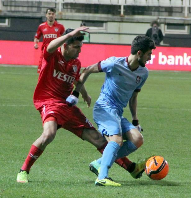 Manisaspor - Trabzonspor Maçından Kareler galerisi resim 1
