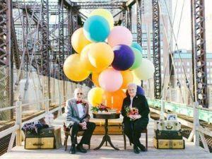 61 Yıllık Evli Tonton Çiftin Evlilik Yıldönümü Kutlaması