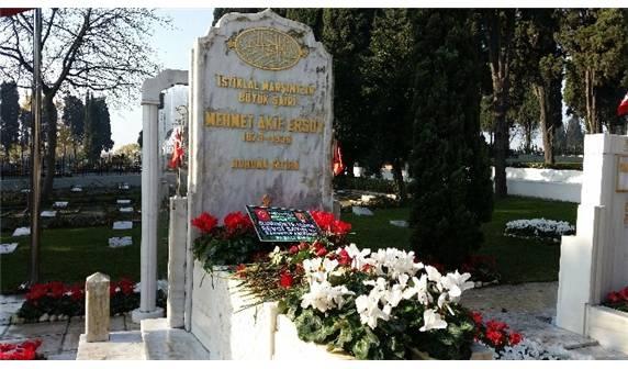 Mehmet Akif ERSOY Mezarı Başında Anıldı galerisi resim 1