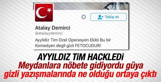 Atalay Demirci'nin Twitter Hesabı Hacklendi galerisi resim 1