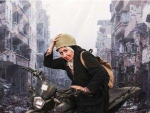 Suriye'deki Katliamı Sergi Yaptılar!