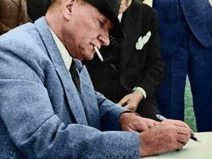 M.K. Atatürk Albümü (Orijinal ve Renklendirilmiş Fotoğraflar)