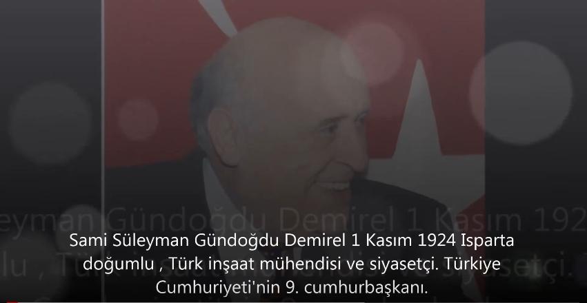 Süleyman Demirel'in Unutulmayan Efsane Komik Konuşmaları galerisi resim 1