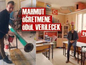 Köy Okulunda Sık Sık Elektrik Kesilince Mahmut Öğretmen Bakın Ne Yaptı!