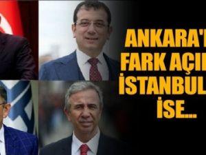 Çarpıcı anket! İstanbul ve Ankara'da kim önde?