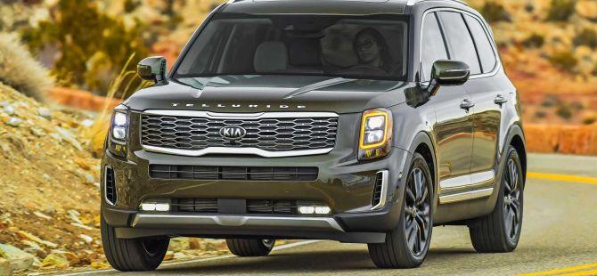 Kia'nın büyük SUV modeli Kia Telluride
