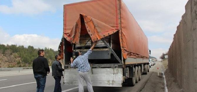 Suriye'ye Giden Çalıntı TIR'lara Operasyon