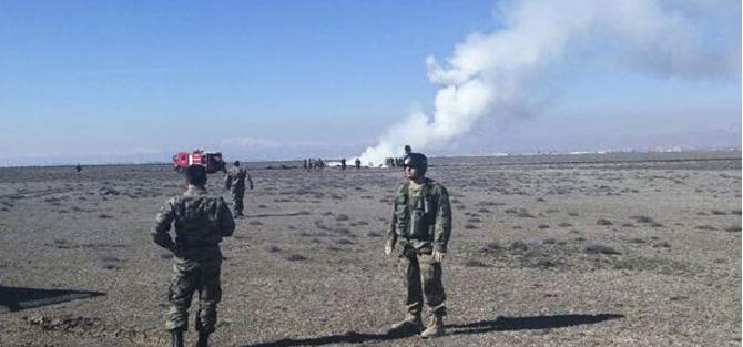 Konya'da Askeri F-4 Savaş Uçağı Düştü: 2 Pilot Şehit