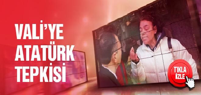 İzmir'deki Törende Vatandaşın Atatürk Tepkisi!