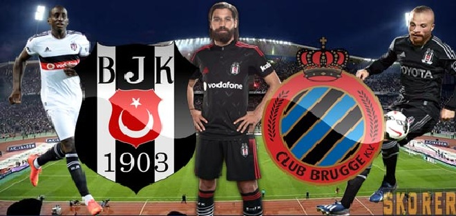 Beşiktaş Club Brugge Maç Sonucu : 3-1 Geniş Maç Özeti