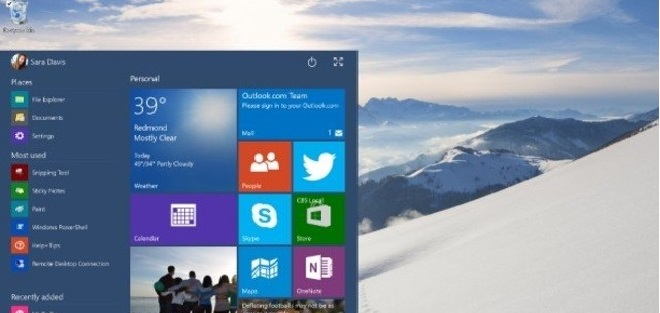 8K Çözünürlüklü Windows 10