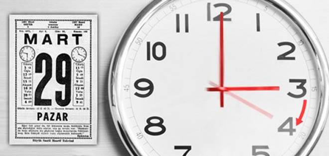 Bu Gece Yarısından Sonra 03.00'te Saatler İleri Alınacak