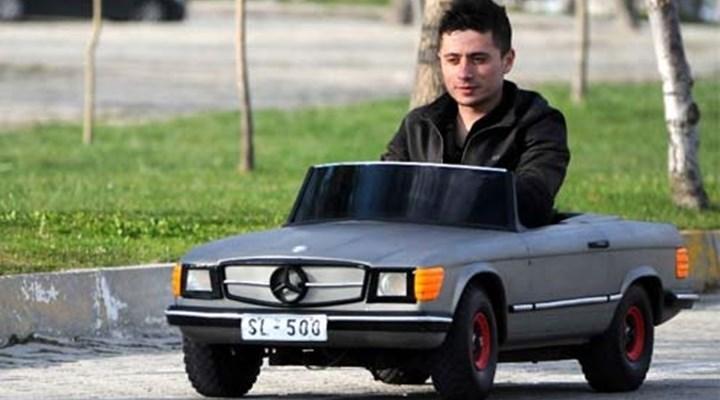 12 bin Euro'ya Tek Kişilik Minyatür Mercedes