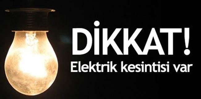 İstanbul'un 11 İlçesinde Elektrik Kesintisi Var