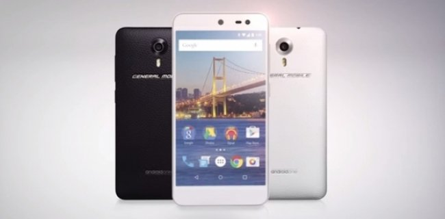 General Mobile 4G, Türkiye'de Android One'lı Tanıtılan İlk Telefon