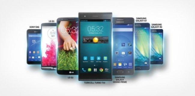 Turkcell, 4G'li Akıllı Telefon Kampanyası Başlattı