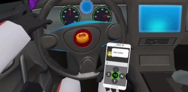 Araç Kullanırken Msj Atma Oyunu: SMS Racing