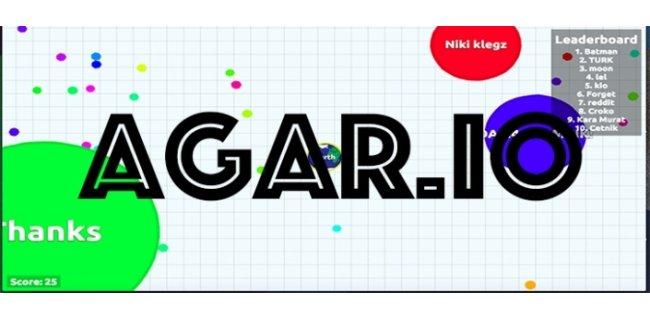 İnternetin Yeni Oyun Çılgınlığı: Agar.io