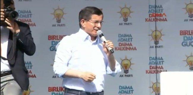 Davutoğlu: Türkçe Gibi Kürtçe de Bizim Dilimizdir