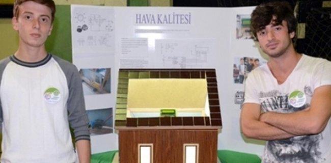 Türk Meslek Lisesi Öğrencilerinden Soba Zehirlenmelerine Karşı Otomatik Açılan Pencere Projesi
