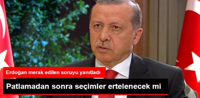 Erdoğan'dan Diyarbakır'daki Patlamayla İlgili İlk Yorum