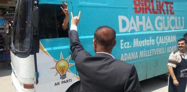 AK Partililer, 'Bozkurt' İşareti Yaptı, Sosyal Medya Sallandı