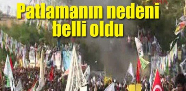 Diyarbakır'daki Patlamanın Nedeni Belli Oldu