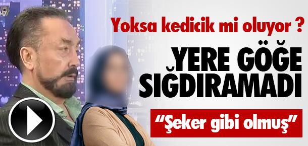 Adnan Oktar Niran Ünsal'a ''Aferim'' dedi