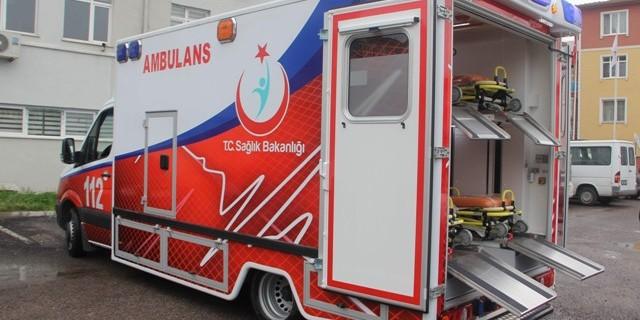 Karabük'e 450 Bin TL Değerinde Çoklu Acil Yardım Ambulansı