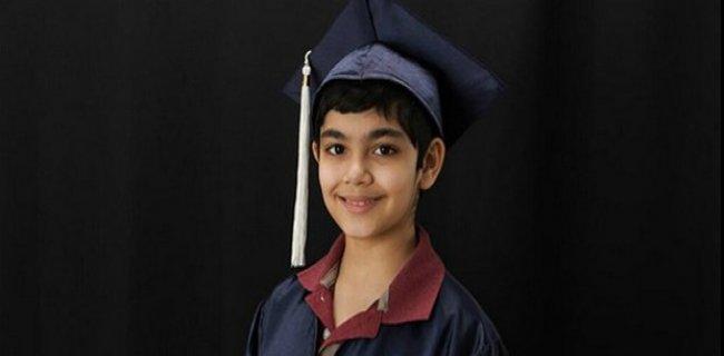 Mucize Çocuk: 11 Yaşında Ama 3 Diploma Sahibi
