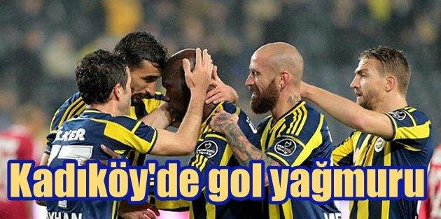 Kadıköyde Gol Yağmuru (Fenerbahçe:4 - Sivasspor:1)