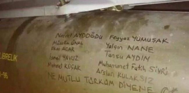 Füzelere Şehitlerin İsimleri Yazıldı