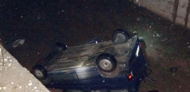 Batman'da Bir Otomobil Dereye Uçtu: 1 Ölü 1 Yaralı