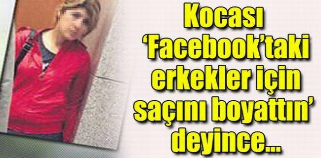 """""""Facebook'a Girme"""" Diyen Kocasını Bıçakladı!.."""