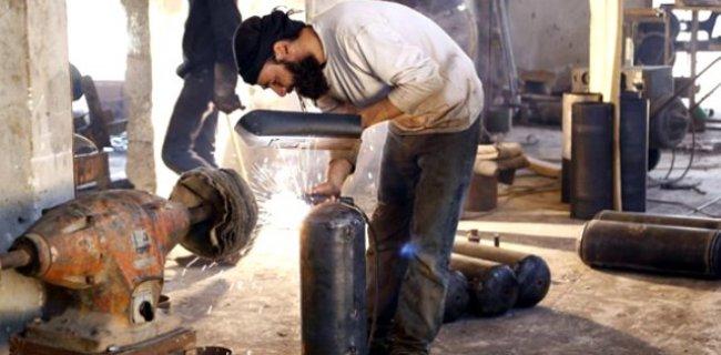 Suriyeli Muhalifler Kendi Silahlarını Yapmaya Başladılar