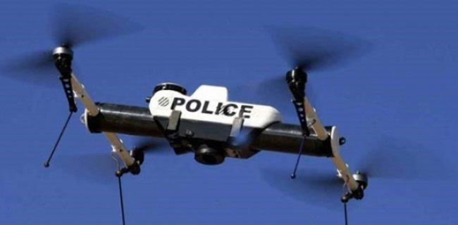 İngiltere Polisinin Suçluları Yakalamada Yeni Ortağı Drone'lar!