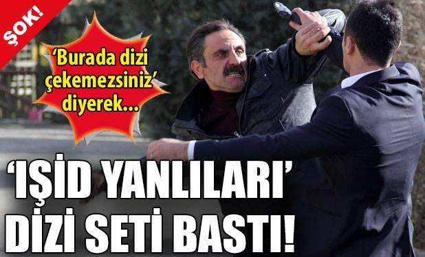 İŞİD Yanlıları İstanbul'da Dizi Setine Saldırdı!