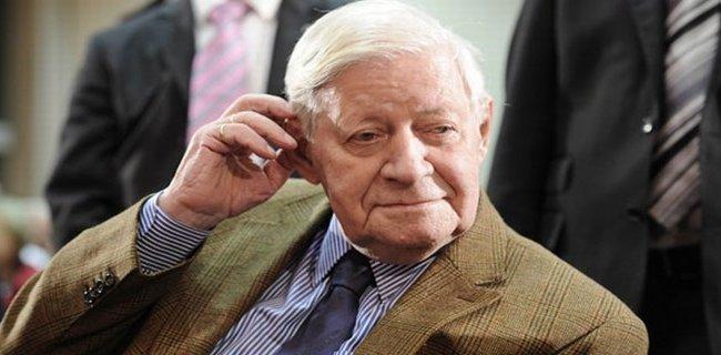 Almanya'nın Efsane Başbakanı Öldü