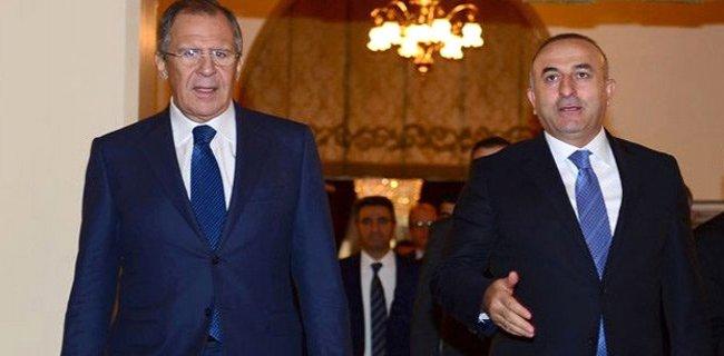 Rus Dışişleri Bakanı İle Görüşen Çavuşoğlu'ndan İlk Açıklama